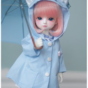[YoSD] GY)Kitty Raincoat(Sky blue)