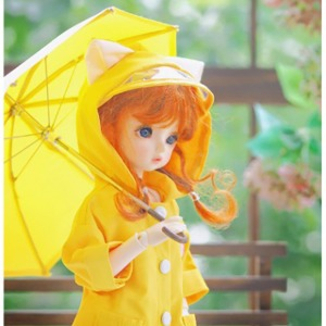 [YoSD] GY)Kitty Raincoat(Yellow)