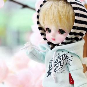[Child16] Design Special Hooded T - Mint