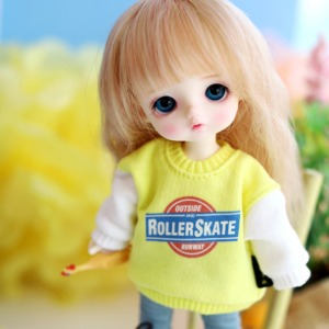 [Child16] Rollerskate MTM_Yellow