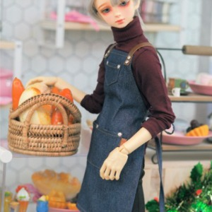 [Pre-Order][SD]NAS-Cafe apron(Denim)
