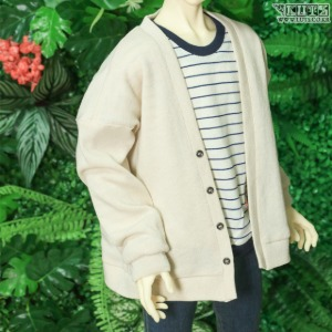 SDF65 Paul Cardigan (Oatmeal)