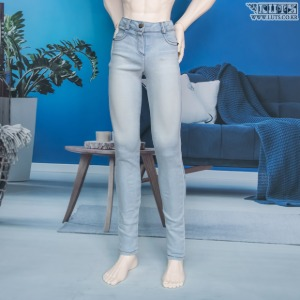 GSDF BOY Vintage washing skinny pants(Ice)
