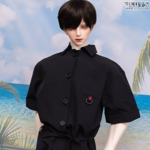 GSDF Short jumpsuit (Black)