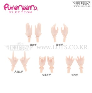 Pureneemo Hand parts C set White Skin