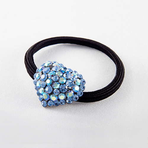 Heart Rubber Band (Blue)
