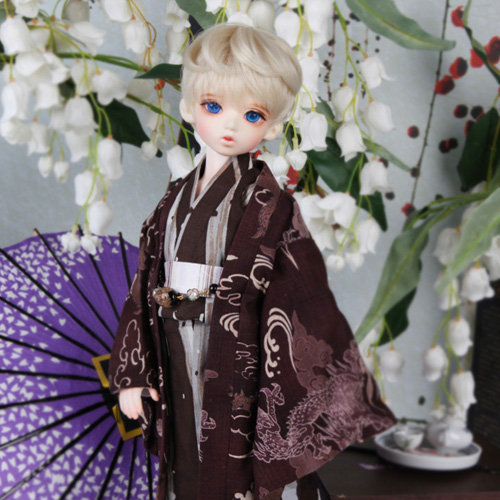 KDF Yukata Set (Brown)