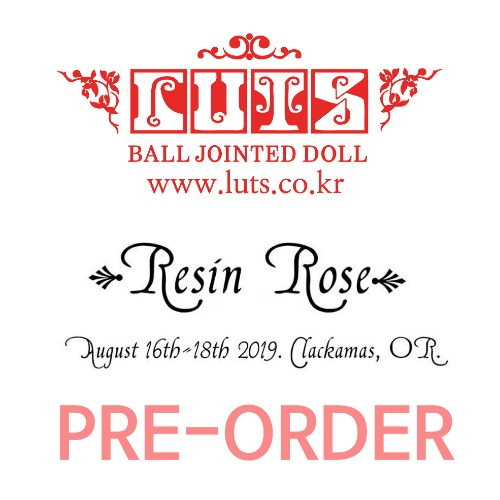 Special booking DOLL for 2019 Resin Rose BJD expo