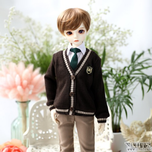 KDF NINE School Boy set (Brown)