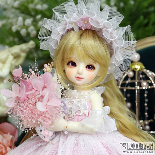 LUTS 19th Anniv. Honey Delf Happiness on $10 Pink ver. Limited