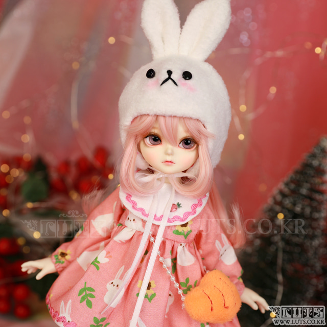 HDF Hi Rabbit set (Pink)