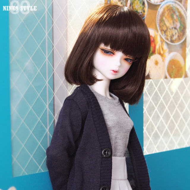 [MSD]GIRL Colorful cardigans(Navy)