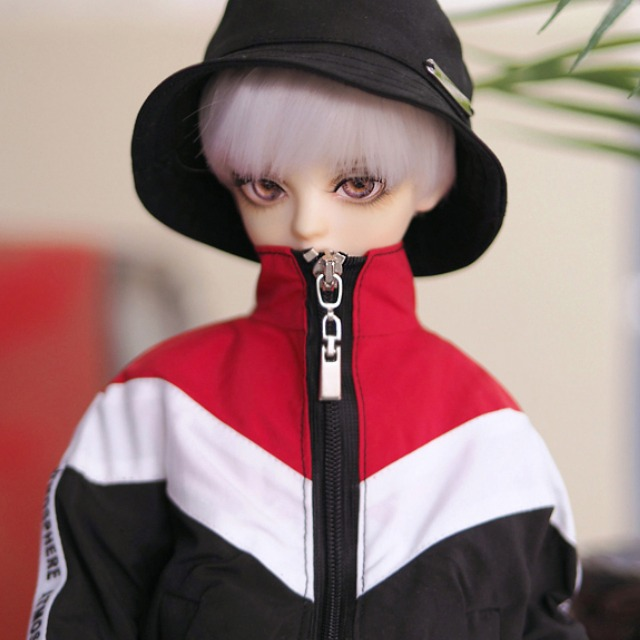 [MSD]Wind breaker(Red black)