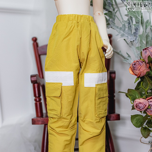 SDF65 Candy-Pop Pants (Yellow)