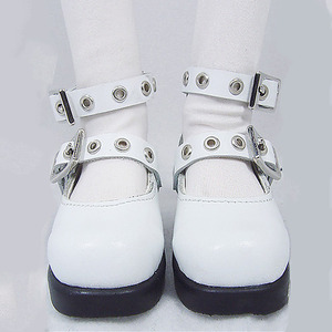 DGS-09 MARY JANE SHOES For Girl (White)