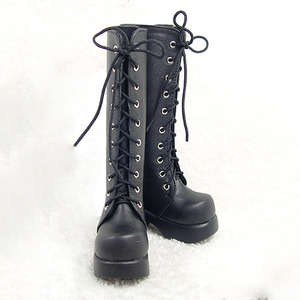 DGS-07 LONG BOOTS For Girl (Black)