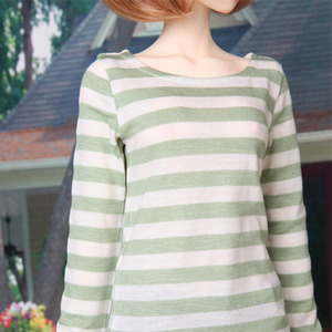 SDF Stripe T- Shirts (Green)