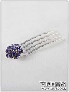 Strawberry COMB Hair PIN(Violet)