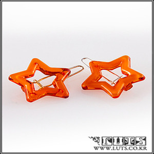 Star PIN SET (Dark Orange)