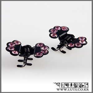 FAN CLAWCLIP PIN SET (Light Pink)