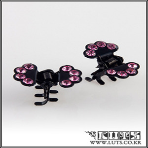 FAN CLAWCLIP PIN SET (Pink)