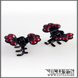 FAN CLAWCLIP PIN SET (Red)