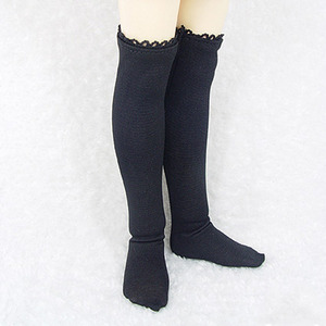 KDF KNEE SOCKS For Kid (Black)