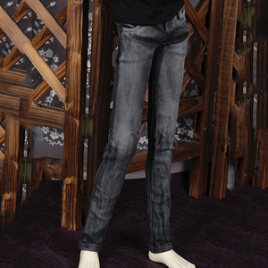 SSDF BLACK SKINNY JEAN For Super Senior Delf