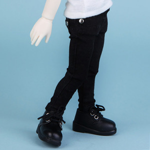 HDF Color Skinny Pants (Black)