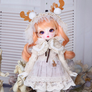 HDF Winter Rose Girl Set