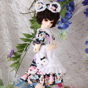KDF MY LOVE RABBIT SET(black)