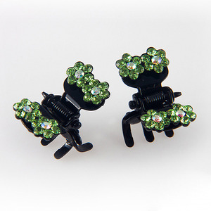 CUBIX TWIN CLAWCLIP PIN SET(LIGHT GREEN)