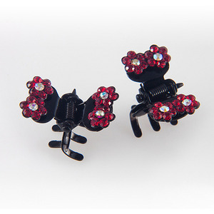 CUBIX TWIN CLAWCLIP PIN SET(RED)