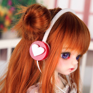 Headphone HDF (White Heart)