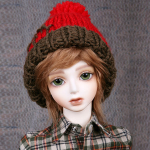 CHRISTMAS KNIT HAT (Mix Red)
