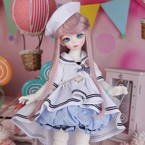 BDF Sailor Set (White)