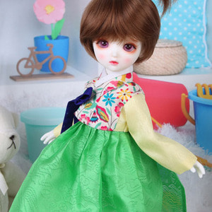 HDF Liberty Hanbok Set (Green)