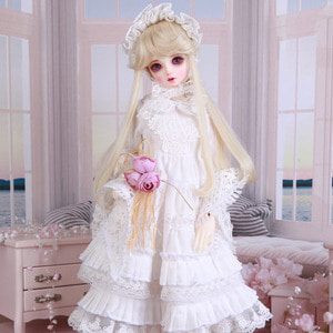 SDF White Dress Set