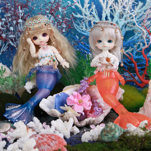 Tiny Delf The Little Mermaid ver. Limited (Period Limit)