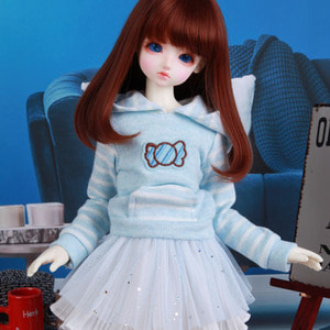 KDF Candy Hood Set (Blue)