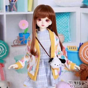 KDF Ice cream cardigan set
