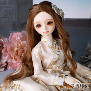 KDF Hanbok set (Ivory Gold)