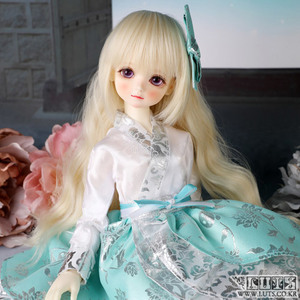 KDF Hanbok set (White Mint)