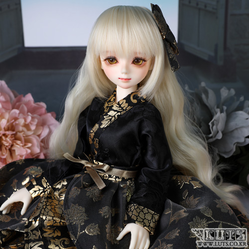 KDF Hanbok set (Black Gold)