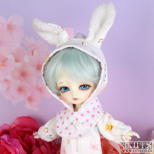 TDF Sleeping Rabbit set (White)