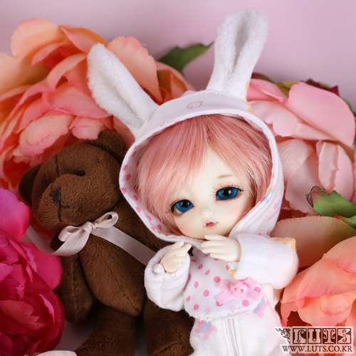 TDF Sleeping Rabbit set (Pink)