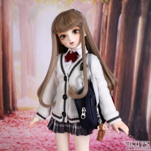 KDF NINE School Girl set (Ivory)