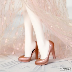 MDF HIGH HEELS Rose Gold Painting Limited