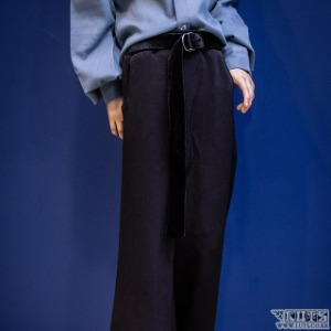 SSDF Wide Pants (Black)