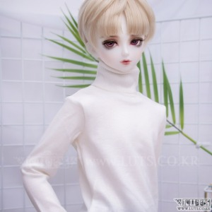 SDF65 Simple turtleneck (Ivory)